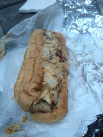 Hunt's Battlefield Fries & Cafe': chicken philly cheesesteak