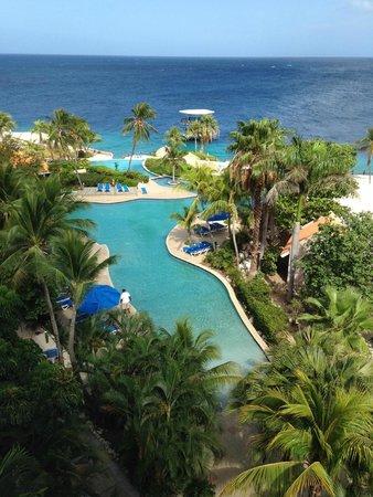 Hilton Curacao: Vista do quarto