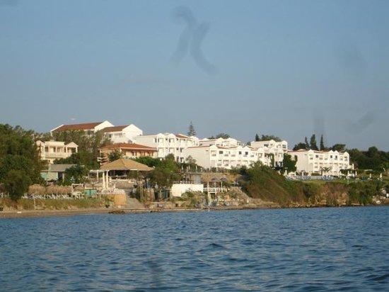 SENTIDO Louis Plagos Beach: view of hotel from the beach