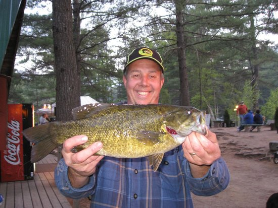 Chocorua KOA: Fishing on Moore's Pond - 50 Acre Lake - Bass