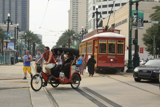 Hilton New Orleans Riverside : Great Location Near Streetcar Line