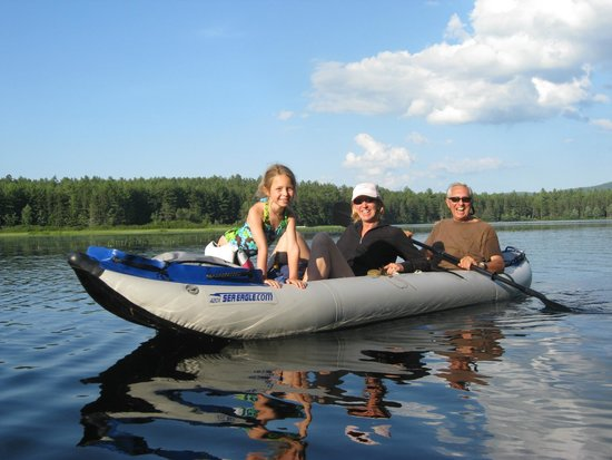 Chocorua KOA: Moore's Pond - 50 Acre Lake campground sits on