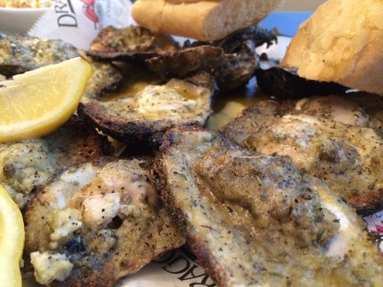 Hilton New Orleans Riverside: Award Winning Charbroiled Oysters