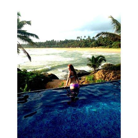Saman Villas: Вид из номера