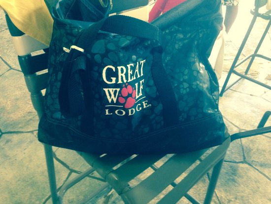 Great Wolf Lodge: Love this bag