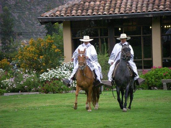 Sol y Luna - Relais & Chateaux: Horse show at the Lodge