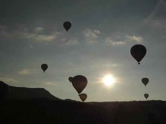 Goreme Balloons: Nascer do Sol