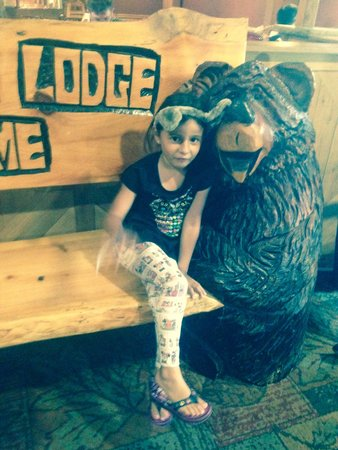 Great Wolf Lodge: My little cub