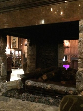 Grand Bohemian Hotel Asheville, Autograph Collection : Lobby Fireplace