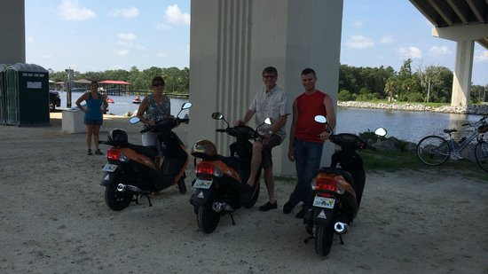 Bike-Scoot-Or-Yak Rentals of Jax Bch : Wohoooo!!!