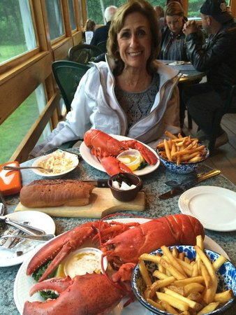 Union River Lobster Pot : The smile wouldn't go away...