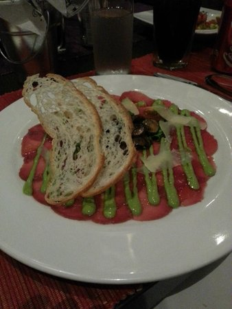 Il Grillo: Beef Carpaccio