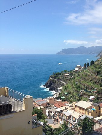 Aria di Mare : View from the terrace