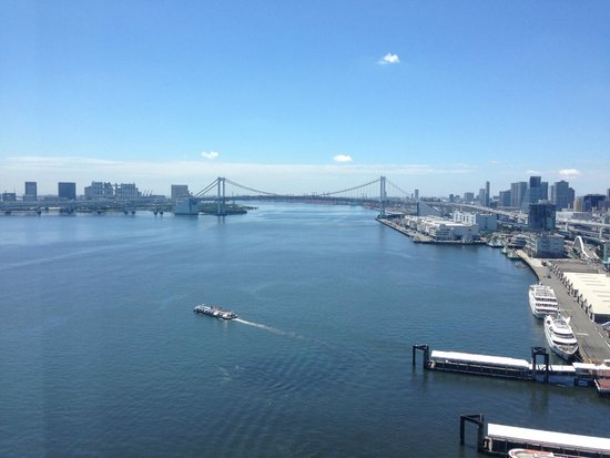 InterContinental Hotel Tokyo Bay: Spectacular view from room