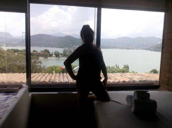 El Santuario Hotel And Spa: HABITACION CON VISTA MUY HERMOSA