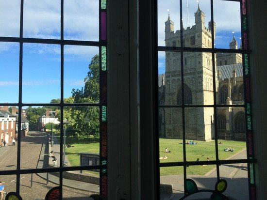 ABode Exeter: View from bed!
