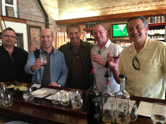 Sedona Wine Adventures: At the Four Eight Tasting Room in historic Clarkdale