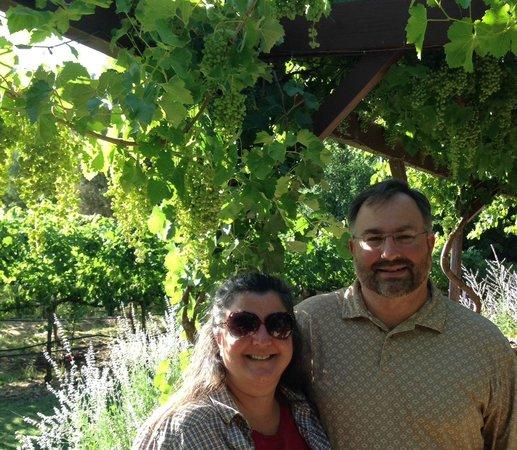 Sedona Wine Adventures: Ij the vineyards