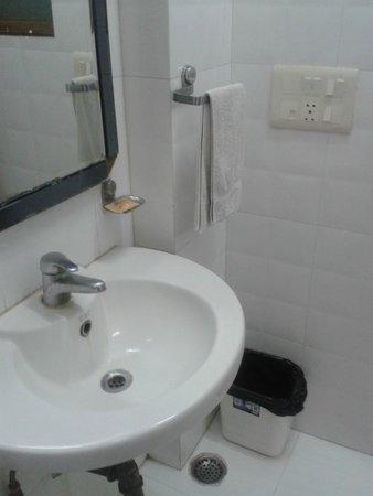 Treebo Rockwell Plaza: Bathroom