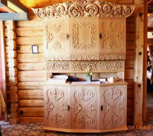 Grotli Hoyfjellshotell: meuble traditionnel