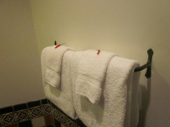 Santa Fe Motel and Inn: Nice touch