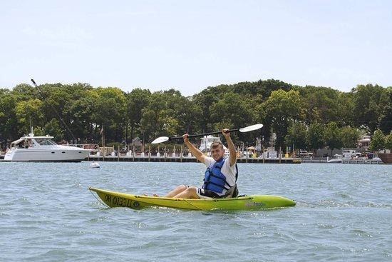 Kayak the Bay : good for you