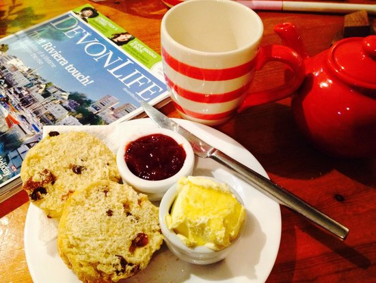 Hele Corn Mill and Tea Room: Totally home made and just great!!!