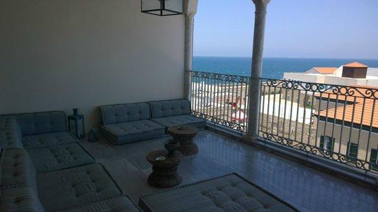 Efendi Hotel: Common area balcony