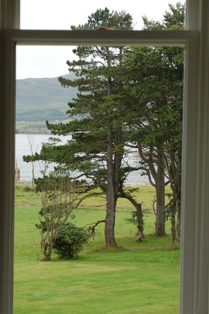 Raasay House: view from my window