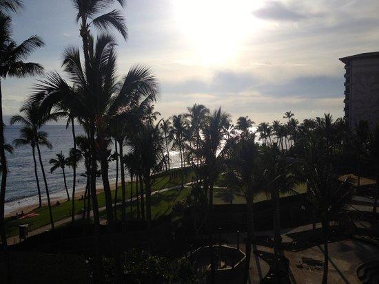Hyatt Regency Maui Resort and Spa: View from the same room