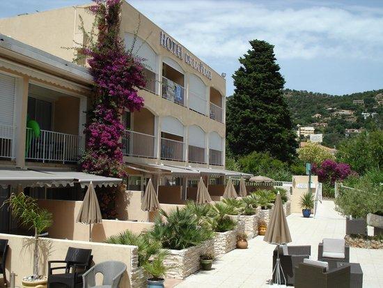 Hotel de la Plage : la terrasse