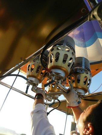 Butterfly Balloons: o fogo do balão