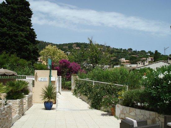 Hotel de la Plage : le jardin