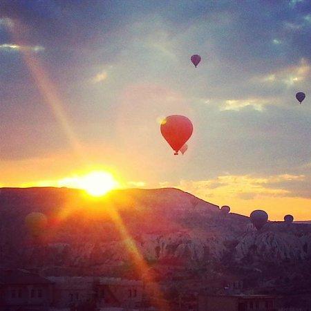 View from rooftop of Doors of Cappadocia Hotel