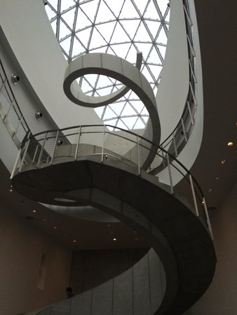 The Dali Museum: Steps