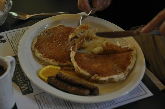 Wheelers Pancake House and Sugar Camp: Pancakes!