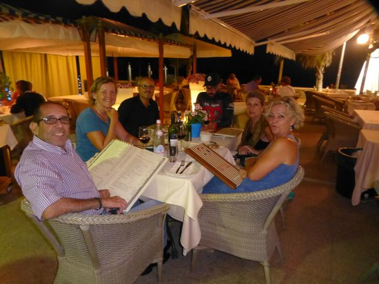 Ciao Ciao Meloneras: Dinner at Ciao Ciao...