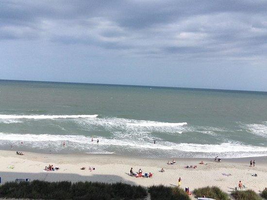 Grand Atlantic Ocean Resort: From 6th floor oceanfront balcony
