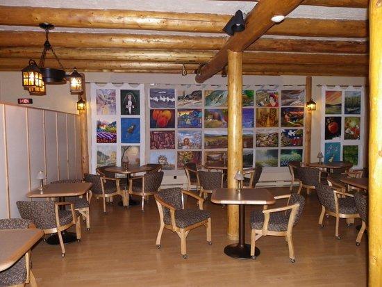 Quality Inn: salle à manger