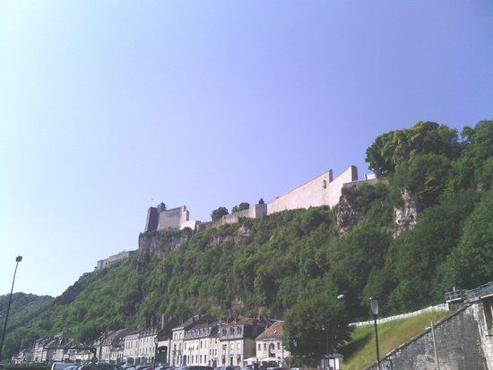 Petit Train de Besançon: a view of the Citadel
