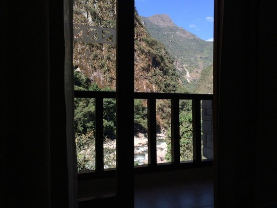 SUMAQ Machu Picchu Hotel: View from the Balcony 3rd floor