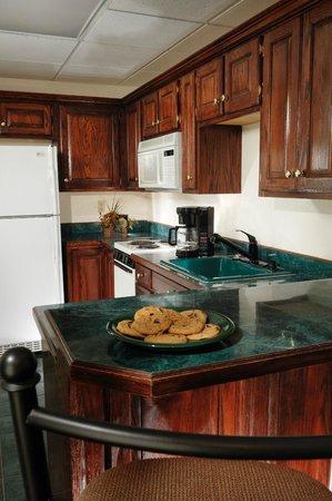 Savannah House Hotel : Presidential Suite Kitchen