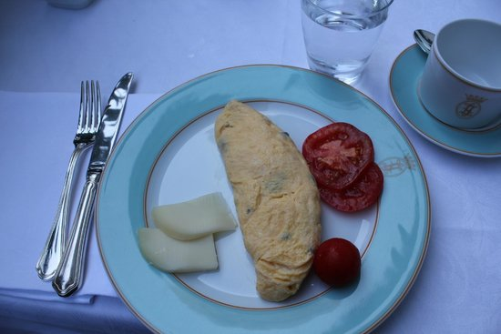 Grand Hotel La Favorita: breakfast