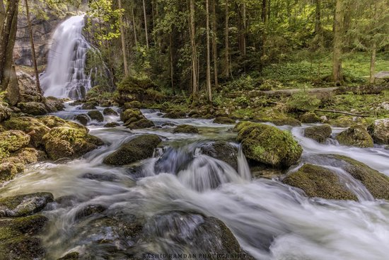 Gollinger Wasserfall : Golling Waterfall