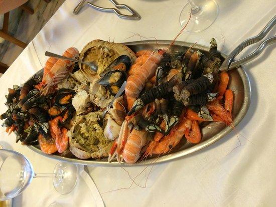 Restaurante Rocamar: Variado marisco para 2p- 1ª parte