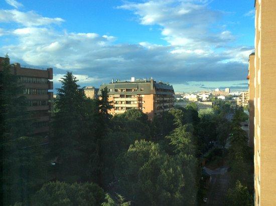 Eurostars Suites Mirasierra: Desde mi ventana....
