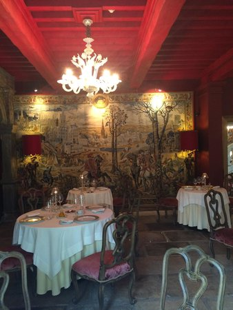 Villa Mazarin La Table : The Inner Restaurant