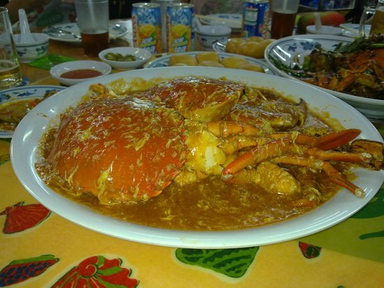 No Signboard Seafood: Chilli Crabs