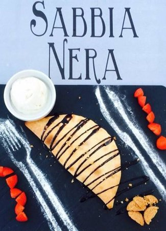 Sabbia Nera Trattoria : Sabbia Nera's Dolce Chocco .....