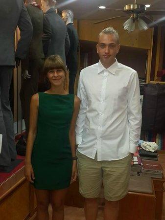 Ash Tailor Samui : dress and slim fit shirt